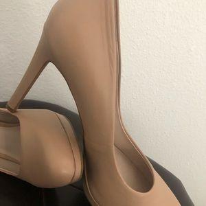 Nine West Shoes - Nine West Pumps - Color: Nude - Size: 8 1/2